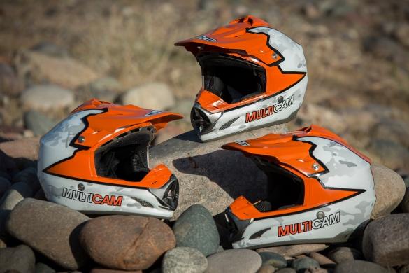 Multi Cam-Baja 1000 Helmets