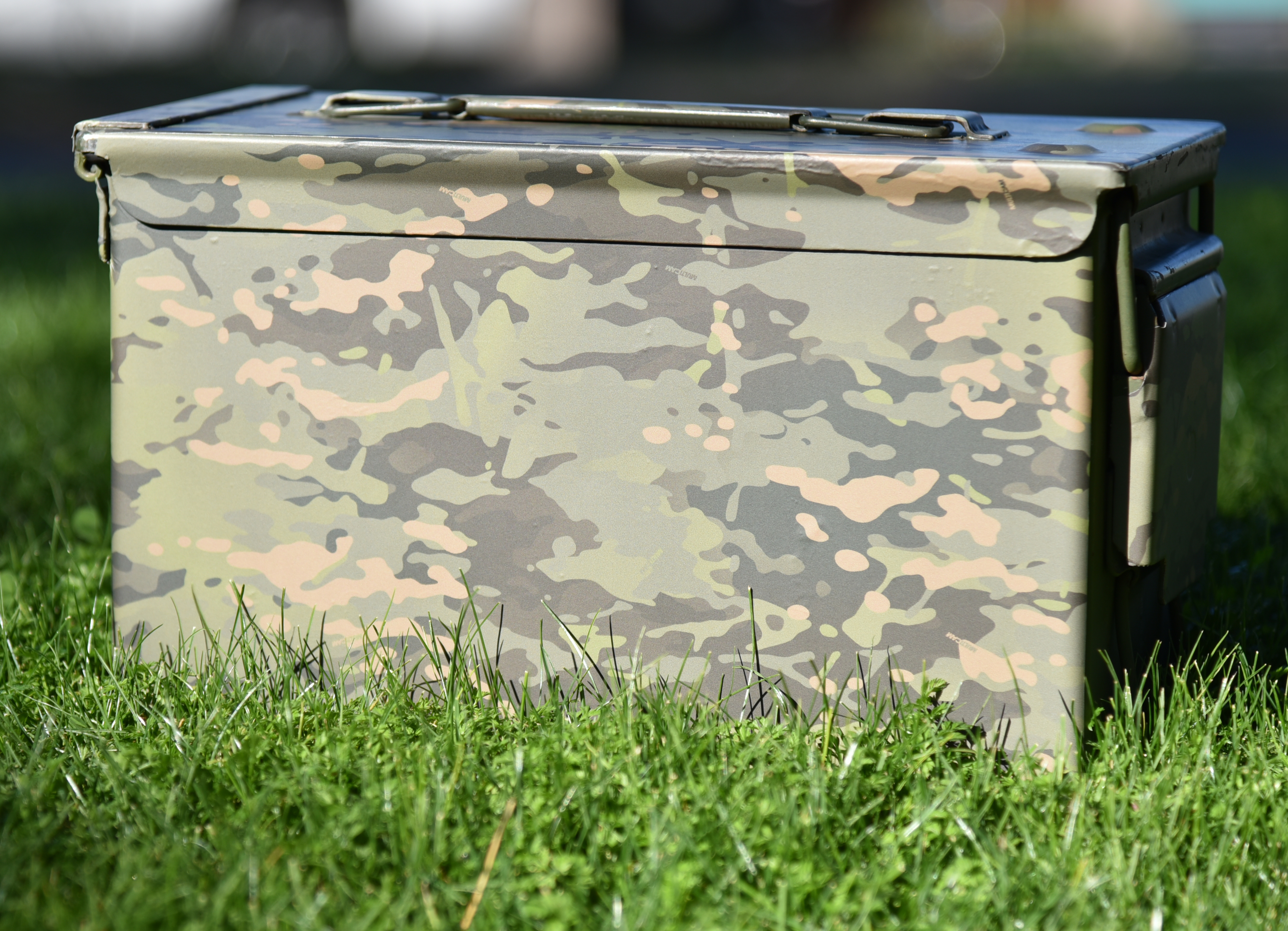 How to Camouflage an Ammo Box